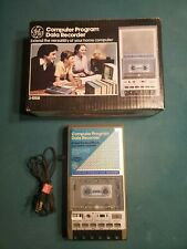 Vintage GE 3-5160A Computer Program Data Recorder Cassette Tape Player/Recorder