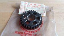 NOS Honda Elsinore CR 125 R 79-80 C/Arbre 3rd Gear 23451-444-000 RED ROCKET