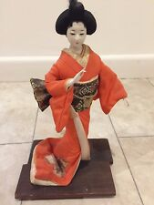 Vintage Authentic Japanese Geisha Doll