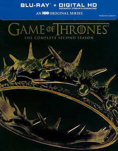 Game of Thrones 2nd Season Blu-ray Disc Digital HD  5-DiscBox Set