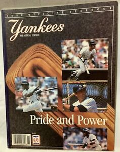 1988 Official Major League Baseball MLB Yearbook New York Yankees NM Condition