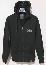 New Era French Terry Full Zip Hoodie Size S Black Cotton Poly Graphics PA Comms