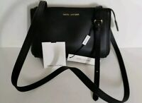 $225 New MARC JACOBS Commuter Crossbody Women's Black Leather Handbag M0013941