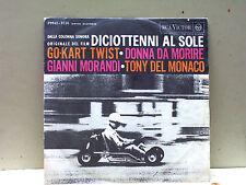 """gianni morandi-45- """"gokart twist-con tony del monaco,donna da morire """""""
