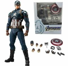SHF Marvel Avengers 4 Endgame Marvel American Captain America Action Figure Mode