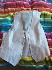 Waistcoat Silver Marks And Spencer Mens Size Large