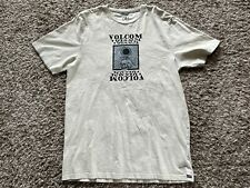 "Volcom ""Hypno Skull"" Short Sleeve T-Shirt Men's Graphic Surf Shirt Size LARGE"