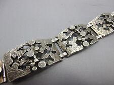 massives Design Armband aus Silber 835 punziert Handarbeit