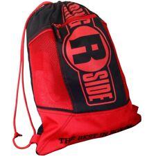 Ringside Cinch Sack Backpack Gear Gym Equipment Gloves Carry Bag - Red / Black