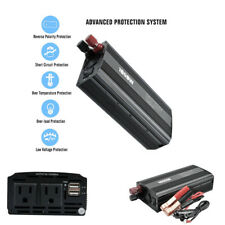 1000W Car Power Inverter Dual USB Charger for Laptop TV DVD Player Game System