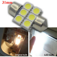 1pc White Festoon 28mm 5050 LED Interior Reading Dome Lamps License Plate Lights