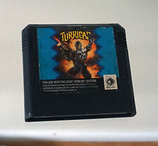 Turrican Sega Genesis game cartridge