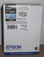 Epson T7441 XXL Tinte black Workforce Pro WP M4015 M4095 M4525 M4595 2019 OVP A