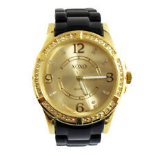 XOXO Watch XO165 Women's Black Link Band Rhinestone Bezel Watch