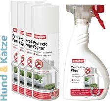 4x200 ml INSEKTENVENEBLER FOGGER/FLOHBOMBE+400 ml UNGEZIEFERSPRAY PROTECTO PLUS