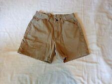 WRANGLER Classic Khaki Tan Women's Casual Shorts - Size 8A - DEAL!