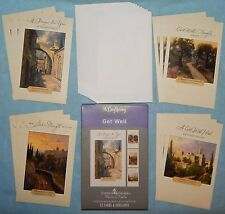 Box of 12 Get Well Cards by Thomas Kinkade {DaySpring 74869} - New