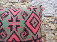 ethnic kilim pillow ottoman kilim