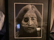 One of a Kind Pencil Etching Portrait of John Lennon Titled Vision Of Lennon