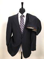 Savile Row Dark Navy Blue 2-Piece 2-Button Fine Wool Suit sz 41S Men's 41 S 42 S