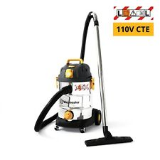 Vacmaster 110V L Class Dust Extractor - Wet and Dry Vacuum Cleaner PTO 1000W 30L