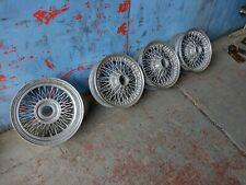 Car 15 inch wire wheels