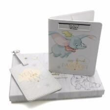 Passport Cover Dumbo Disney Baby Luggage Tag Gift Set Boxed DI282