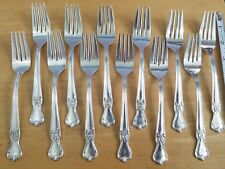 """SIGNATURE 1950 DINNER FORK BY OLD COMPANY PLATE /""""H/"""""""
