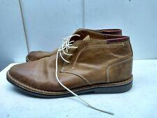 Steve Madden Tan Nubuck Leather Lace Up Ankle Chukka Desert Boot Men Shoe 14M 48