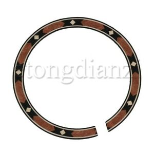 Multicolor Rosewood Rosette for Acoustic Guitar