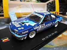 BMW 635 CSI #25 24h SPA 1983 gitane S Cudini Snobeck Peltier 1/300 SPARK 1:43