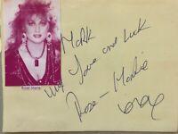 ROSE-MARIE Genuine Handsigned Signature on Album Page.