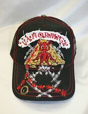 Red Monkey La Hormiga Black Truker Hat