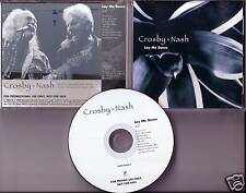 David CROSBY Graham NASH Lay Me Down PROMO CD & Stills