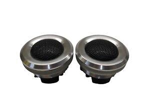 "2) Audiopipe ATX100 1"" 100 Watt Titanium Tweeters 4 Ohm"