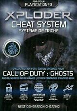 Xploder Cheats System Ultimate Edition Ps3 - Cod Ghosts Very Good PlayStation 3