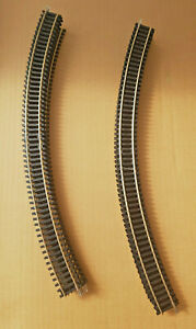 16 NEW R609 HORNBY 3rd RADIUS DOUBLE CURVE NICKEL SILVER THIRD TRACK PIECES PACK
