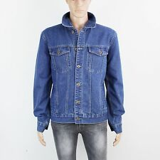 Urban Republic Mens Size L Blue Denim Jacket
