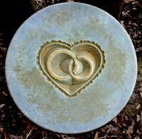 """Wedding rings mold plaster concrete casting mould  10"""" x 1.20"""""""