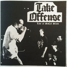 "Take ataque ofensivo-Live at socal slam colored 7"" Limited One Time Edition/500 red"