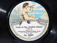 78rpm ANKER RECORD: WEYERSBERG conducts ANDANTE PAUKENSCHLAG-SYMPHONY