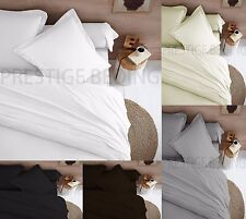Flannelette 100% Cotton Soft Brushed Duvet Cover With Pillow Case Bedding Set