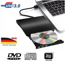 DHL Externes DVD Laufwerk USB 3.0 CD/DVD-RW Brenner für PC Windows 7/8/10 Mac