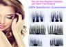 3D Magnetic False Eyelashes No Glue Handmade Natural Extension Eye Lashes NEW