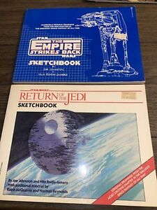 The Empire Strikes Back & Return If The Jedi Sketchbooks First Edition Paperback