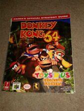 Donkey Kong 64 Prima Strategy Guide