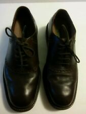 Mens Florsheim Ease Brown Leather Saddle Oxfords Shoes Sz. 10 MD5802
