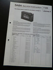 Original Service Manual  SABA JOURNEY 3
