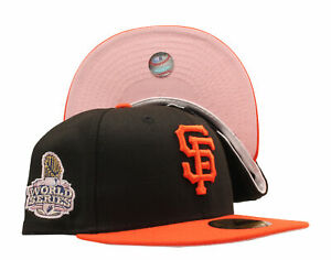 New Era 59Fifty MLB SF Giants 2012 World Series Fitted W/ Pink Bottom
