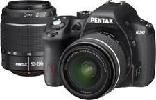 Pentax k-50 - NERO KIT CON dal 18-55mm WR e dal 50-200mm WR